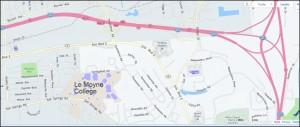 Le Moyne map 1